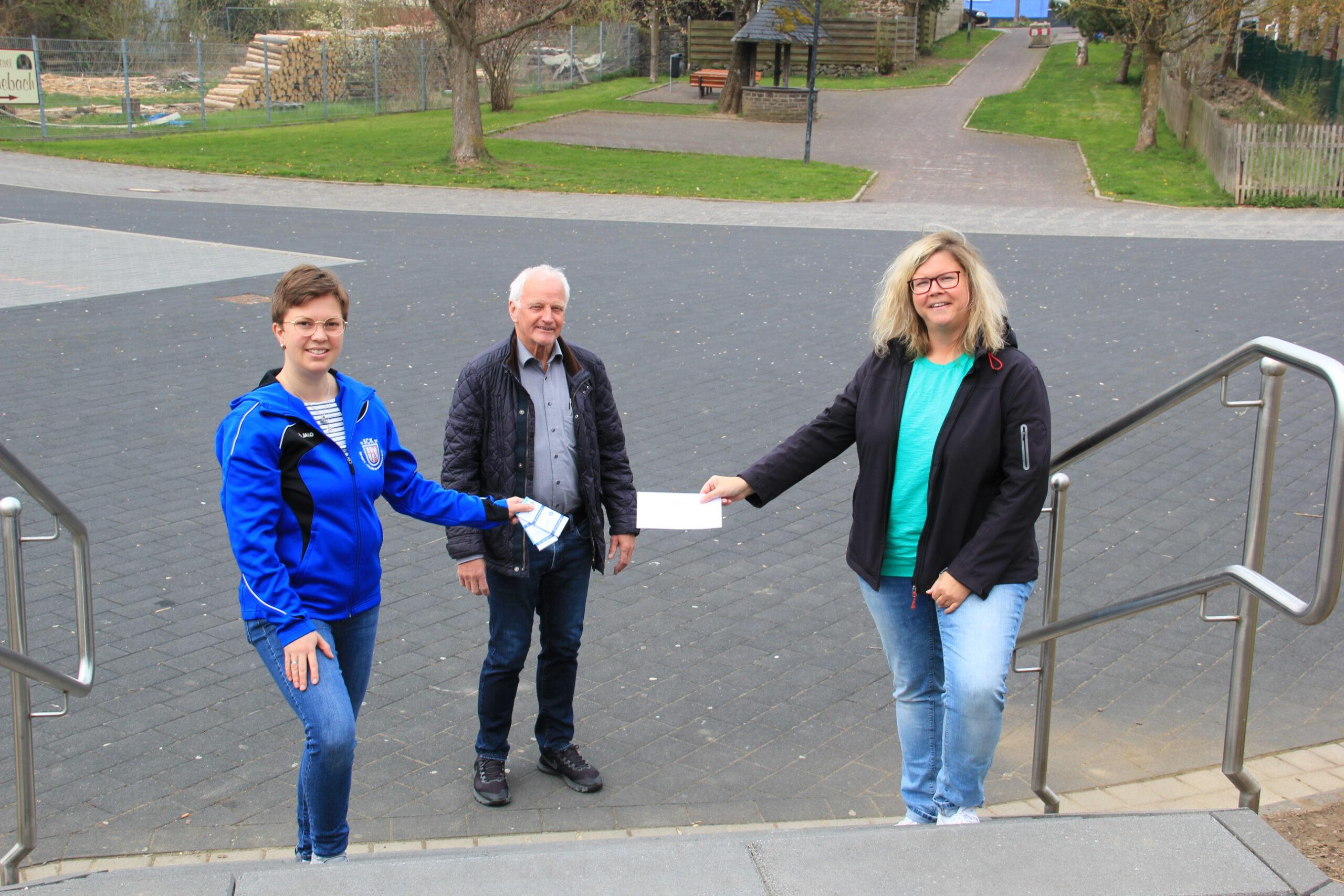 FWG gibt Starthilfe für die Kirmeslotterie des SC Kempenich